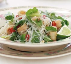 Richard Harris' Seared Squid and Glass Noodle Salad