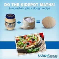 2 Ingredient Pizza Dough Recipe - Budget