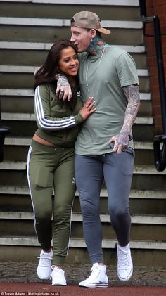 Jeremy McConnell puts on a VERY loved-up display  They made no secret of their flourishing romance just a day before.  And Jeremy McConnell continued to put on an elaborate display of his new love with glamour model flame Charlotte Huntley as they hit the streets of Manchester while perusing jewellery at luxury jewellers Boodles earlier in the week.  The 27-year-old Celebrity Big Brother star has been loving life since his departure from prison following his conviction of assault on his…