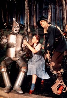 The Tinman, Dorothy and the Scarecrow