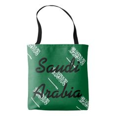 Saudi Arabia Tote Bag - unusual diy cyo customize special gift