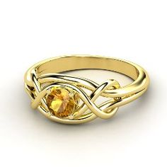 citrine. I don't know why, but this ring just seems so darn happy.