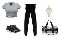"""Untitled #9"" by tiril-solberg-1 on Polyvore featuring beauty and adidas Originals"