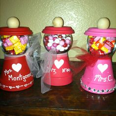 Valentines gifts for teachers...2012