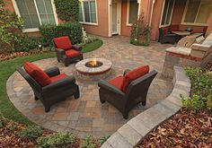 Outdoor Living Space Design & Products For Homes - System Pavers
