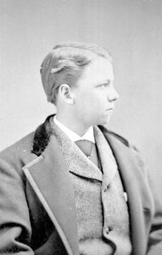 """Edward """"Ned"""" Dickinson, son of Austin and Susan, nephew of Emily, 1861 - 1898"""