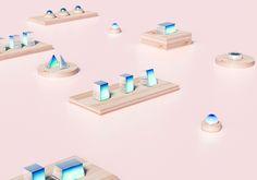 Taste in Blue by Pleid Studio