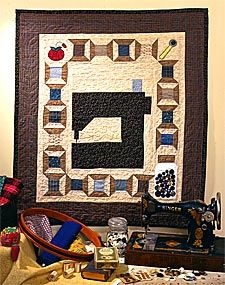 FREE sewing machine quilt pattern from McCall's Quilts