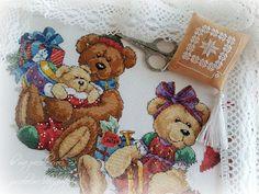 le mie piccole croci: Christmas Bears Tree Skirt
