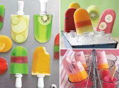 Can't wait to try various frozen popsicles in the molds I've purchased