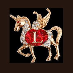 Animated Unicorn Alphabet ~ Jewels Art Creation