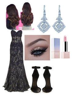 """Brits"" by chicagofangirl ❤ liked on Polyvore featuring Jovani, Isabel Marant and Sephora Collection"