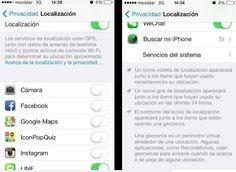 Cómo configurar la privacidad en el nuevo sistema operativo iOS 7 - Negocios Inversiones Noticias de Tecnología