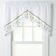 CHF & You Clover Swag Curtain Pair - 58'' x 30''