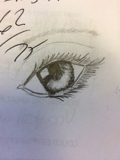 I drew this... On a test... If you re-pin this I would appreciate it if you could give me credit - marley gonzalez