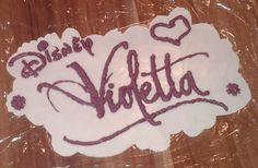 """Schritt für Schritt zum """"Violetta"""" Logo"""
