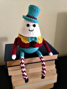 Crochet Humpty Dumpty Puzzle Doll - Free Pattern