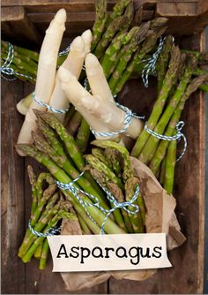 Want to learn more about asparagus? Sign up for Jamie Oliver's Kitchen Garden Project at http://www.jamieskitchengarden.org/!