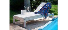 Espreguiçadeira para Deck e Piscina - Miosotis | Jardim Moveis