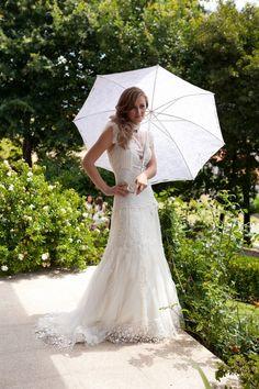 Eduarda Marinho, casou-se no ano passado com o vestido de casamento