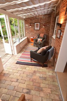 Garden room exterior Relax with cup of tea or a glass of wine in the garden room at Keep Cottage in Orford Suffolk Garden Room, House Design, House, Garden Room Extensions, Home, Suffolk House, House Exterior, New Homes, Sunroom Designs