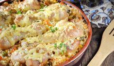 Рецепт куриных ножек с рисом в духовке