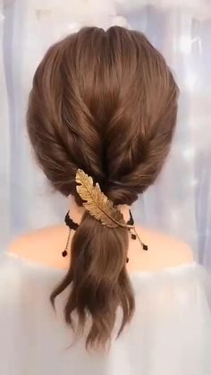So lovely! The Effective Pictures We Offer You About flower girl hairstyles tutorial A quality pictu Simple Elegant Hairstyles, Easy Hairstyles For Long Hair, Cute Hairstyles, Wedding Hairstyles, Wedding Updo, Diy Wedding, Quinceanera Hairstyles, Hairstyles For Bridesmaids, Greek Hairstyles