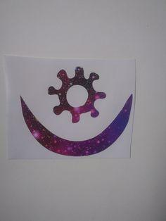 Harmony symbol, BOHO Harmony Decal, BOHO stickers, Galaxy Pattern by Adsforyou on Etsy Harmony Symbol, Galaxy Pattern, Guns And Roses, Window Decals, Symbols, Stickers, Lettering, Boho, Handmade Gifts