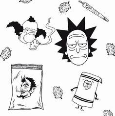Cartoon Character Tattoos, Cartoon Tattoos, Anime Tattoos, Cartoon Drawings, Cartoon Logo, Tattoo Outline Drawing, Doodle Tattoo, Outline Drawings, Dot Work Tattoo