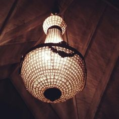 Obsession with Mudbrick chandelier
