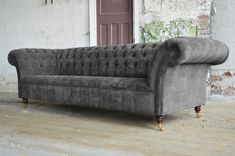 grey chesterfield - Google Search