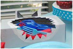 Host the ultimate Shark Party with these awesome shark crafts, shark food ideas, shark party favors and games for Shark Week for shark birthday parties! 6th Birthday Parties, Boy Birthday, Mermaid Birthday, Shark Birthday Ideas, Third Birthday, Birthday Cake, Shark Week Crafts, Baby Shower, Finding Nemo