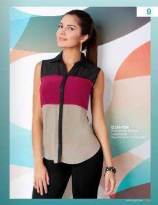 Blouse Styles, Blouse Designs, Trendy Fashion, Womens Fashion, Blouse Dress, Corsage, Refashion, Dress Patterns, Ideias Fashion