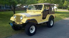 1976 Jeep Wrangler - Levi's Edition - This was my family's first jeep, ours was yellow and denim.