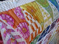 Green Fairy Quilts: Dear Jane................ I want this quilt, will I ever be crazy enough to try sewing it?