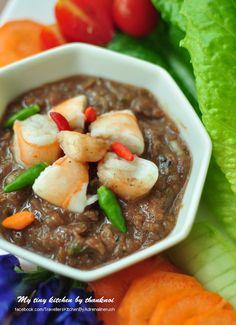 Bloggang.com : AdrenalineRush : 9 W Magic #: เมนูน้ำพริก>>น้ำพริกกุ้งสด thai food