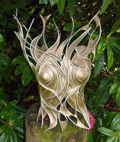 Metal Sculpture by Penny Hardy.