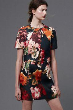 Floral Dress. J. Mendel Resort 2013 Collection