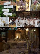 The book party... a party in white. Wohnträume in Weiss