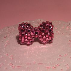 sparkly bow ring