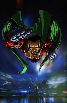 """Icon   Augustus Freeman"" artwork by J Reed Art"