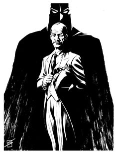 Alfred Pennyworth by Ron Salas