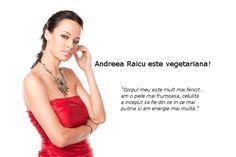 Interviu cu Andreea Raicu despre stilul ei de viață    Am găsit recent acest interviu cu Andreea Raicu și m-am gândit să vi-l împărtășesc. Este din anul 2010 dar subiectul principal nu și-a pierdut din valoare. :)    Cum ai devenit vegetariană? Ce s-a întâmplat? Ai prieteni vegetarieni care te-au ajutat într-un fel sau altul?    La începutul anului trecut am decis să elimin carnea din alimentația mea iar produsele de origine animală să fie din ce în ce mai rare. Am luat această decizie după…