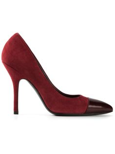STELLA LUNA contrasting toe cap pumps - on Vein - getvein.com