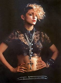 Herb Ritts Madonna 1984. This was taken back when she was KOOOOOL!