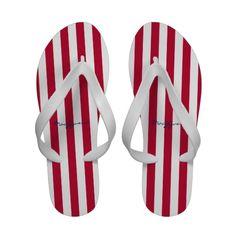 Stripes Flip-Flops