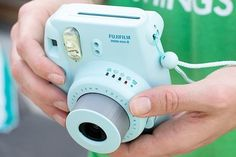 New Model Fuji Instax 8 Color Blue Fujifilm Instax Mini 8 Instant Camera