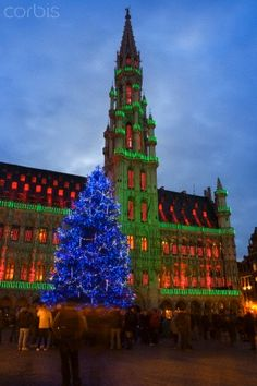 Christmas in Brussels, Belgium is a great time to visit. Stroll along the many Christmas markets or stop at the Grand Palace to hear some Christmas music live.