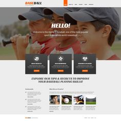 Baseball - WordPress Template