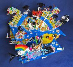 lego movie masterbuilder's submarine - Google Search